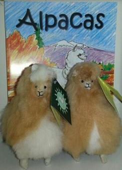 "Photo of Alpaca Stuffed Animal - 6"""