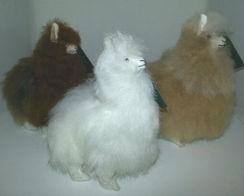 "Alpaca Stuffed Animal - 4"""