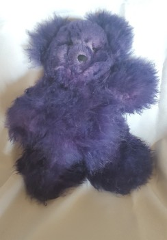 Hand Dyed Alpaca Bears (several colors)