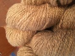 Photo of HandSpun Alpaca Yarn-Jaz-4.3 oz-223 yds