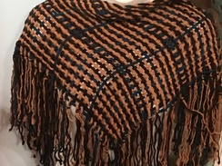Photo of Woven Alpaca Shawlette