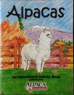 Alpaca Educational Activity Book