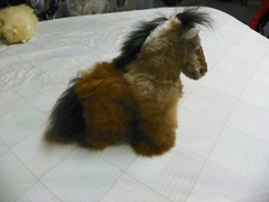 Photo of  Toy Horse Baby Alpaca Fur