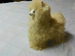 Photo of Toy Standing Alpaca