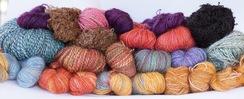 Photo of Hand dyed and spun yarn