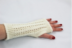 Photo of Wrist Warmers Pointelle