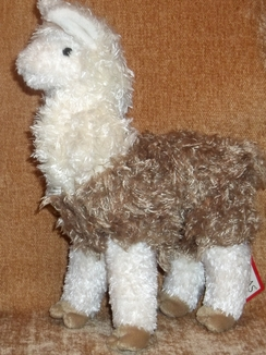 "Photo of Soft Snuggly 11"" Alpaca / Llama"
