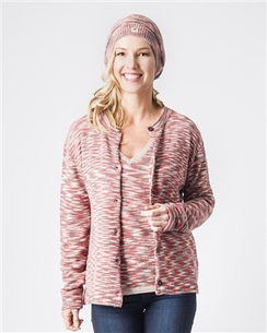 Melange Ladies Cardigan
