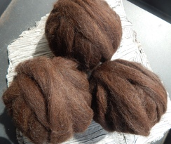 Photo of Alpaca Rovings~Choose Your Color