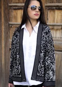 Photo of Jacquard Kimono Jacket