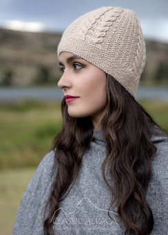 Photo of Classic Cable Alpaca Hat