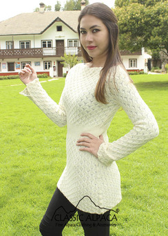 Photo of Jeanette Alpaca Sweater Tunic