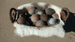 Photo of Alpaca Felted Dryer Balls