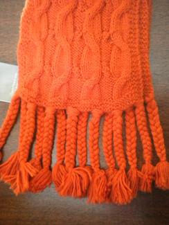 Photo of Alpaca Fall Fringe Scarf