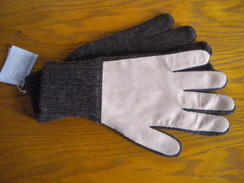 Mens Alpaca Driving Gloves