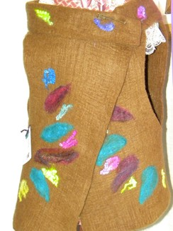 Photo of Felted Alpaca Vest