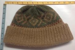 Photo of Alpaca Fiber Men's Winter Hat