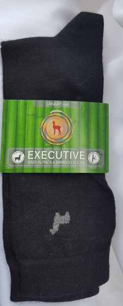 Thin Executive Bamboo and Alpaca Socks