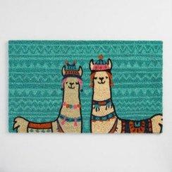 Alpaca-Llama Welcome Doormat