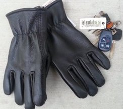 Mens, Alpaca Lined Leather Gloves
