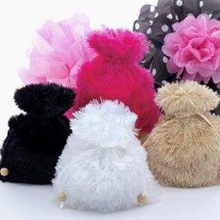 Shaggy, Baby Alpaca Fur-Filled Bag