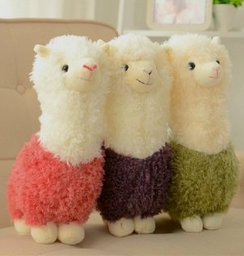 Curly Q Alpaca Plush Toy