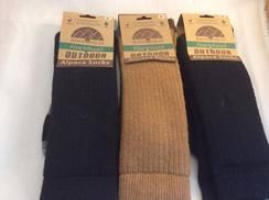 Alpaca Socks L