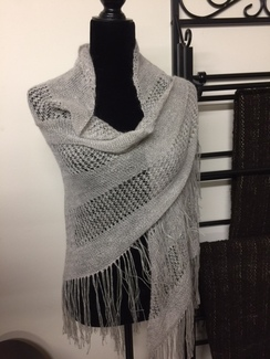 Photo of Handmade Lace Shawl