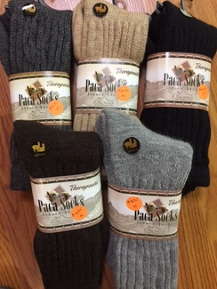 Therapeutic Paca Socks