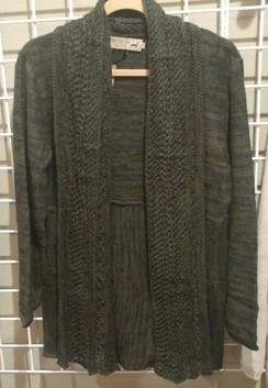 Photo of Green Melange Cardigan