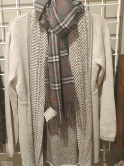 Photo of Silver Gray Cardigan