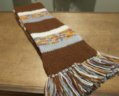 Photo of Knitted Alpaca Scarf