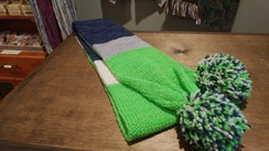 Photo of Team Colors Alpaca Scarf