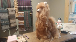 Photo of Large Stuffed Alpaca