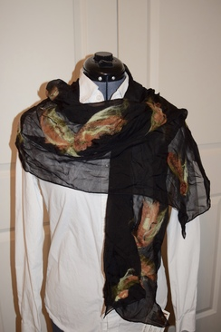 Photo of Silk Alpaca Wrap