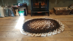 Photo of Hand Braided Alpaca Rug