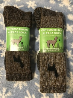 Photo of Outdoorsman Alpaca Socks