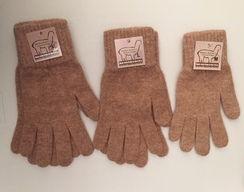 Photo of Alpaca Gloves - Large