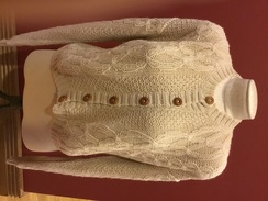 Photo of Alpaca Sweater Button Cardigan Womans