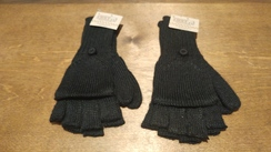 Photo of Black Fingerless/Mittens