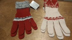 Photo of Shipibo Alpaca Boucle Gloves