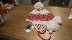 Photo of Shipibo Alpaca Boucle Chullo