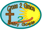 Cross2Grace Dairy Goats and GoatGoat Dairy Goats - Logo