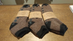 Photo of Alpaca Slipper Gripper Socks