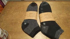 Photo of Alpaca Slipper Socks (Grey)
