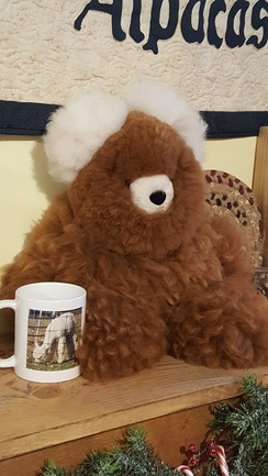 X-Large Plush Alpaca Bears