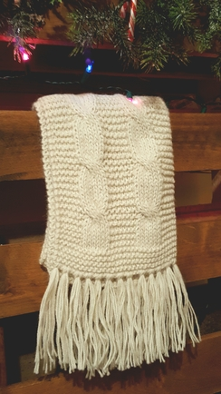 Photo of Classic Cable Knit Scarves