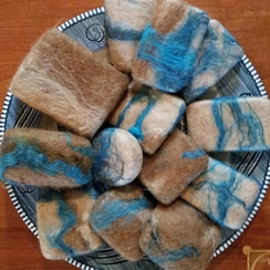 Photo of Alpaca Felted Soap - Southwest Series