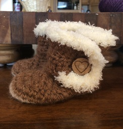 Custom Order Crochet Baby Uggs