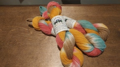 Photo of Hand Painted Alpaca Yarn